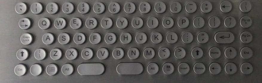 Keyboards industrial