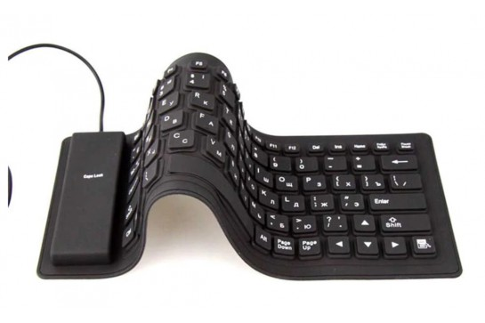 RUGGED retractable keyboard model RKU 85