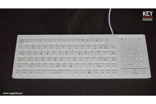 RuggedKEY silicone keyboard model RSK318