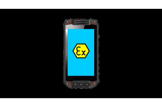 SMARTFON EXIS-520.1 NFC ATEX zone 1/21