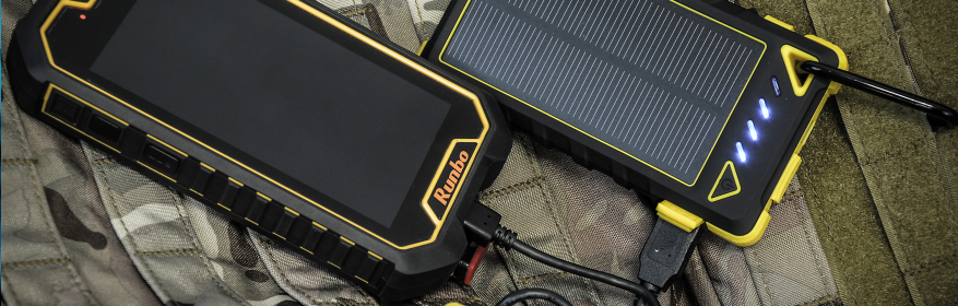 Rugged rechargeable batteries